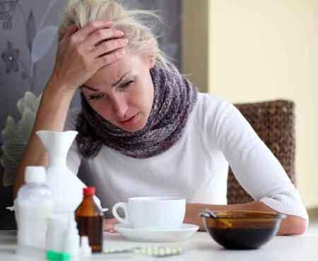 Симптомы синдрома хронической усталости могут имитировать симптомы, обычно связанные с гриппом