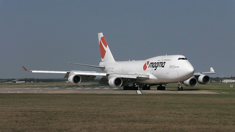 TF-AMP Air Atlanta Icelandic Boeing 747-481 (BCF) Doncaster DSA
