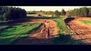 Съёмка квадрокоптером на гонках по мотокроссу