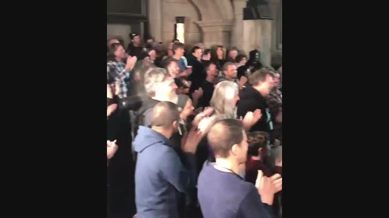 Эрин на праздновании 100 эпизодов «Готэма» в Steiner Studios, Бруклин (10.12.2018)