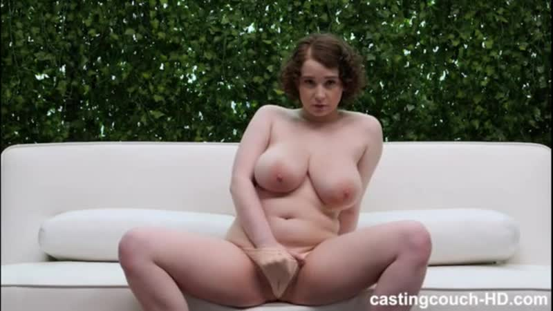 Busty Anna returns and has sex with two black guys at Castin