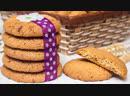 ХРУСТЯЩЕЕ ЛАКОМСТВО Овсяное печенье с орехами рецепт простой и вкусной выпечки