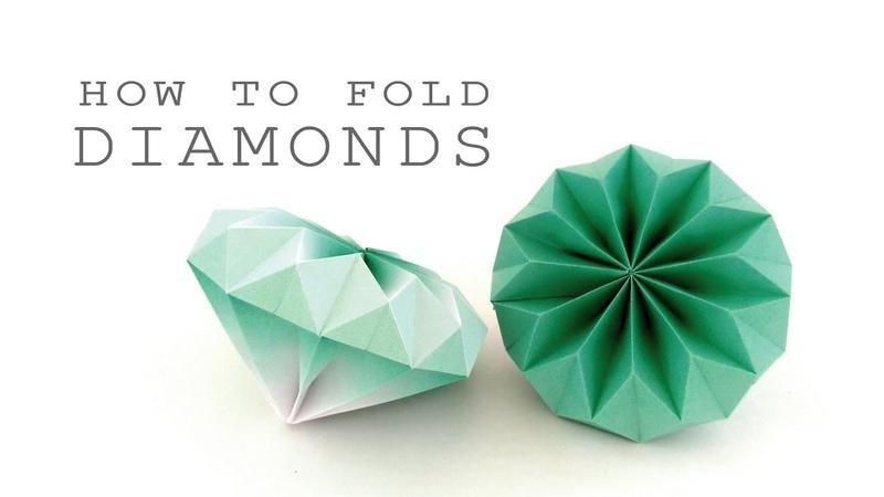 ダイアモンドの折り方💎ver.2