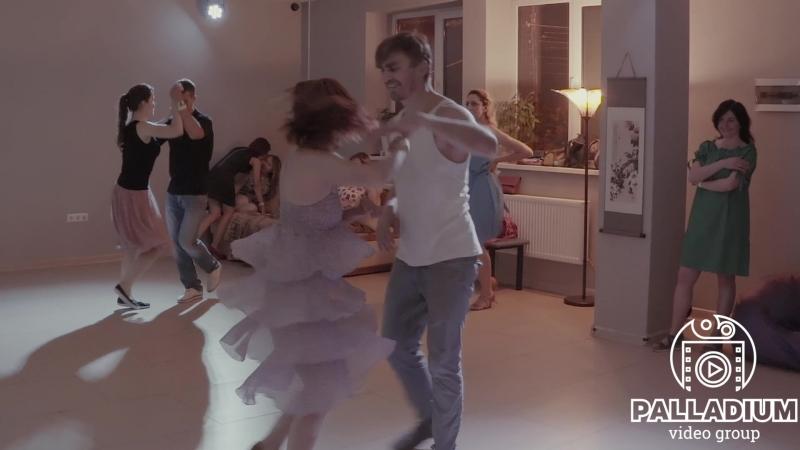 Сальса. Валерий Морозов и Анна Федоренко