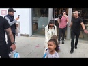 Kim and Kourtney Kardashian go shopping with the kids in