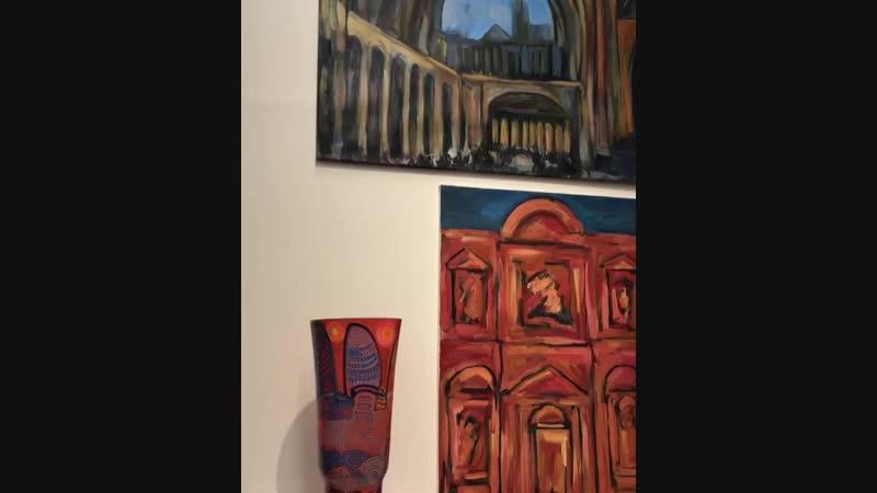 Художник Андрей Бартенев приглашает на радостную выставку ЦИРК ЦИРК ЦИРК в московскую галерею АРТ4 (Хлыновский тупик,4)
