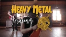 Heavy Metal Knitting World Championships on July 11th 2019 in Joensuu, Finland