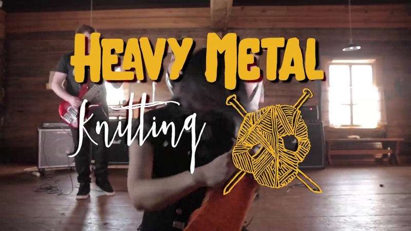 Heavy Metal Knitting World Championships on July 11th 2019 in Joensuu Finland