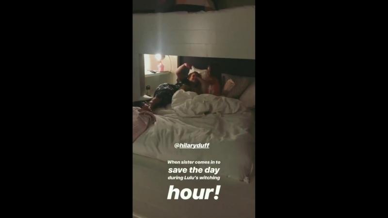 Instagram Stories Haylie Duff | 10.08.2018