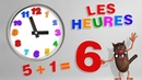 Compter les heures pour les enfants Learn to count the hours for Kids Toddlers Serie 06 4k