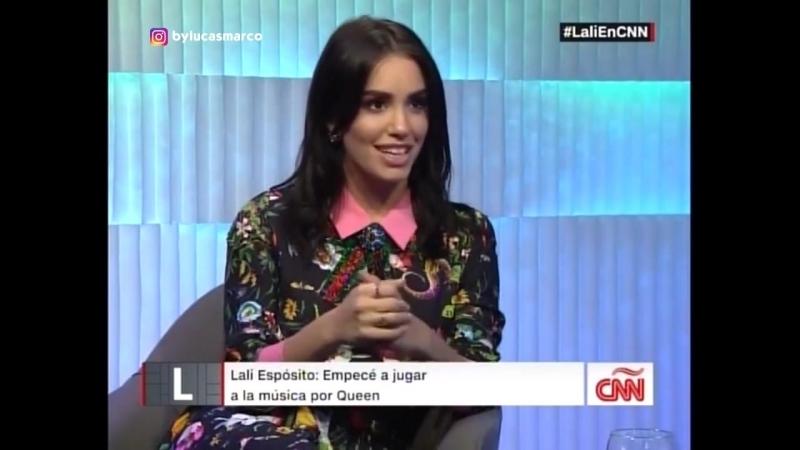 Lali en Diálogo con Longobardi - CNN En Español