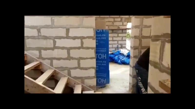 Строительство дома 212 м2 в деревне Агалатово