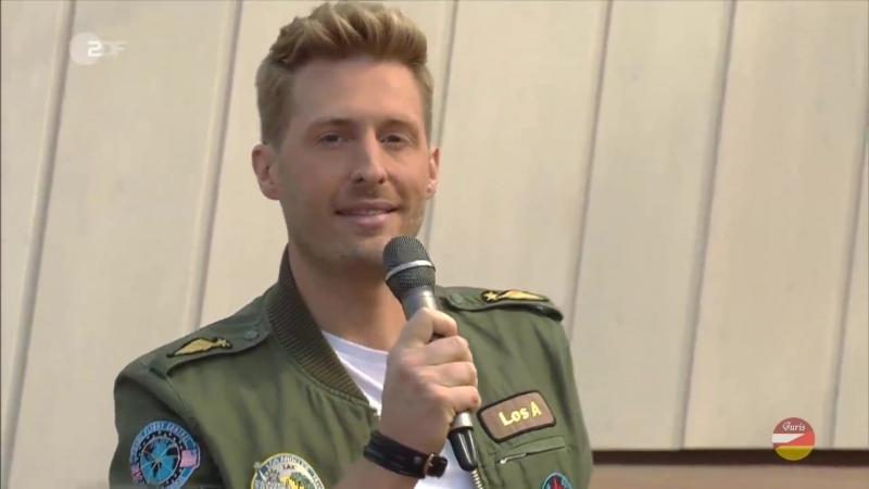 Maximilian Arland «Giulia» (ZDF- Fernsehgarten 09.09.2018)