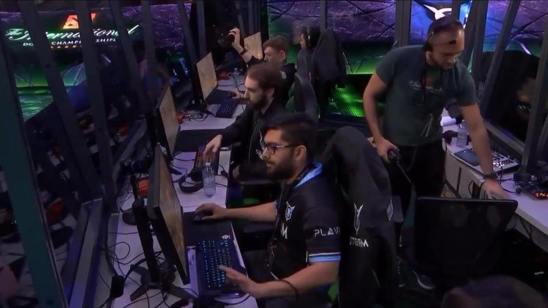 Последняя игра WINSTRIKE на THE INTERNATIONAL 2018 против VGJ.S