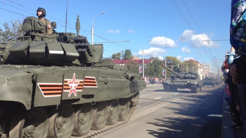 Брянск - 17 Сентября 2018 - Парад Военной Техники