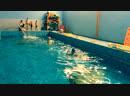 Занятие в бассейне АКВА КРЕПЫШ