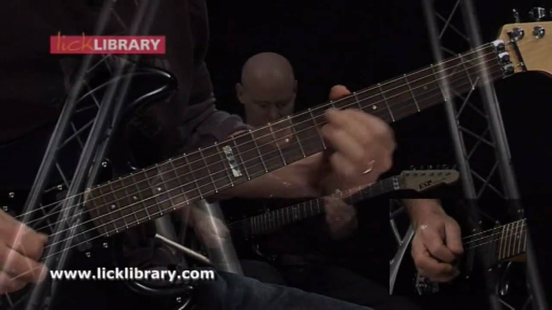 Judas Priest - Beyond The Realms Of Death - Guitar Solo Performance With Danny Gill Licklibrary