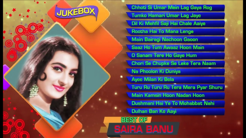 Hits Of Saira Banu _ Bollywood Classic Songs