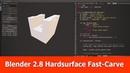 Blender 2.8 Hardsurface Modeling Addon Fast Carve