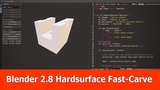 Blender 2.8 Hardsurface Modeling : Addon Fast Carve