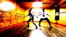 Девочка круто танцует с тренером cool girl dancing