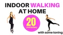 INDOOR WALKING AT HOME WORKOUT - WEIGHT LOSS WALK WORKOUT - WALKING EXERCISE AND FULL BODY TONING
