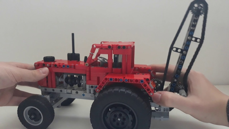 МТЗ 80 Беларусь из лего Lego MTZ 80 Belarus