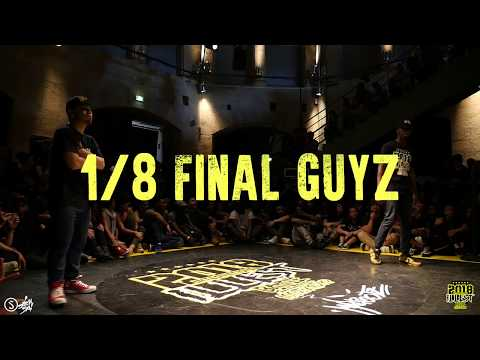 INTERNATIONAL ILLEST BATTLE 2018 I 1/8 FINAL GUYZ I RUMBLER VS KID NY