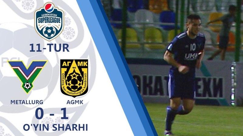 10.05.2018. Metallurg - AGMK - 0:1   O'yin sharhi (Superliga. 11-tur)