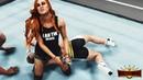 WWE 2K19 - Ronda Rousey Vs. Becky Lynch (Wrestlemania 35 SIMULATION)
