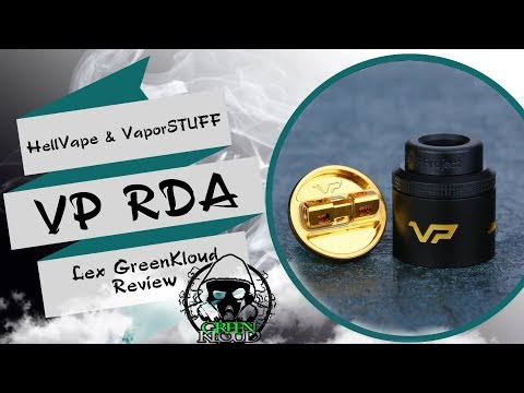 VP RDA by HellVape from heavengifts.com Инновации🏛️ LexGK review