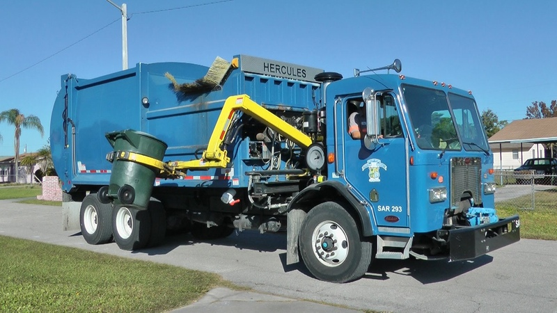 EZ Pack Hercules Side Loader: City of Ft. Myers
