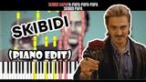 Little Big - SKIBIDI (Romantic Edit) - На Пианино - Караоке - Ноты