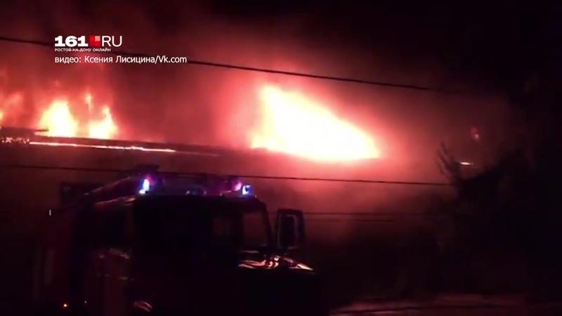 Пожар в двухэтажке оставил без крыши над головой 25 человек