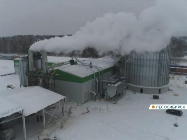 В Лесосибирске полностью решили проблему с утилизацией отходов от лесопилок