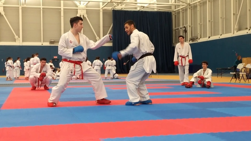 Douglas BROSE, 2X WKF World Champion, in Montreal 2017 07/17 - Arrow Karate Seminars