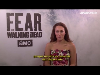 Fear The Walking Dead S4 - Alycia Debnam-Carey & Colman Domingo Interview