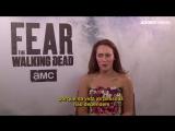 Fear The Walking Dead S4 - Alycia Debnam-Carey & Colman Domingo Interview