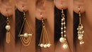 5 easy Pearl Earring Design   DIY   5 min Craft   Hand made jewelry   Art with Creativity