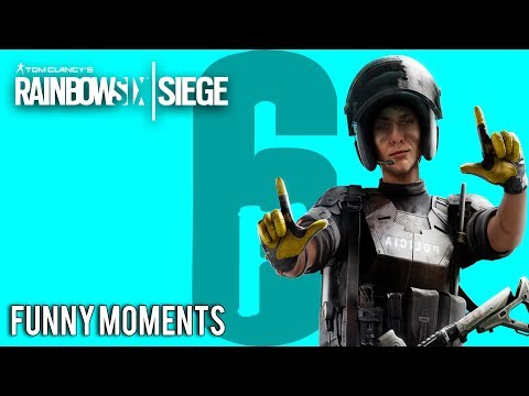 Rainbow Six Siege Смешные и забавные моменты Tea Bag Dokkaebi и Гараж