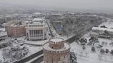 Thessaloniki Heavy Snow (Drone Mavic Air) 05-01-2019