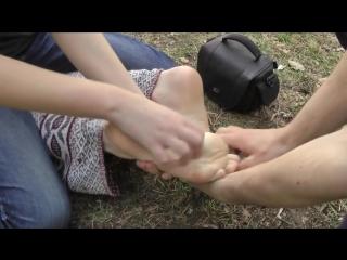 Utba. tickle feet interrogation