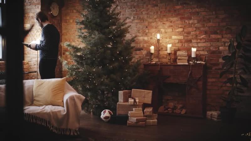 Kaspars Gorkšs Ziemassvētku stāsts par Vilku un viņa draugiem LAT. Рождественская история про Волка и его друзей -RUS