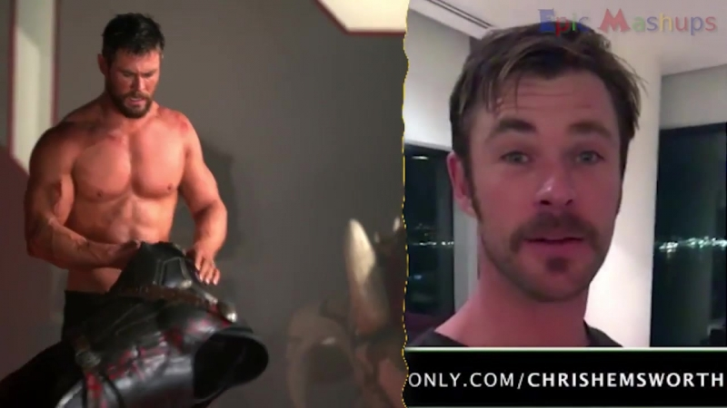 Мстители: Война Бесконечности - Как менялись Крис Хемсворт и Том Хиддлстон / Avengers- Infinity War - Thor And Loki