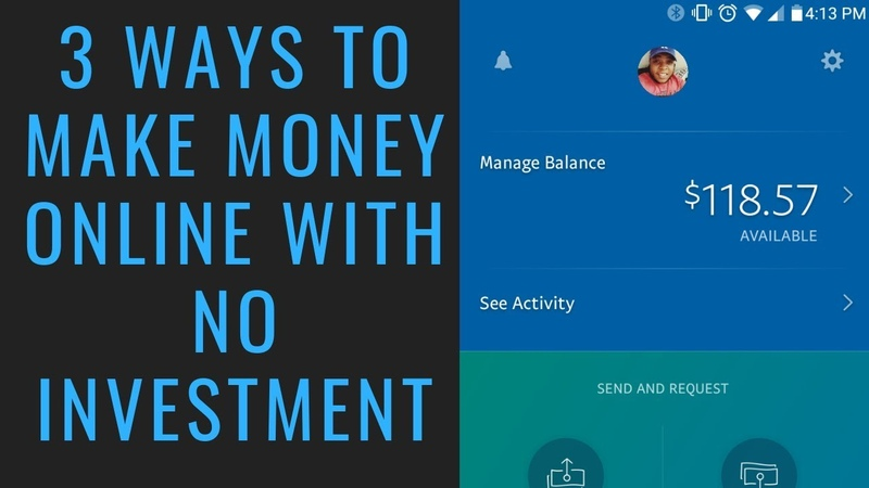 3 Ways To Make Money Online With No Investment (2019) | Best Ways To Make Money Online As A Beginner