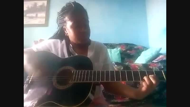 Ensinando a tocar minha música Eu Já Vivia a Te Esperar