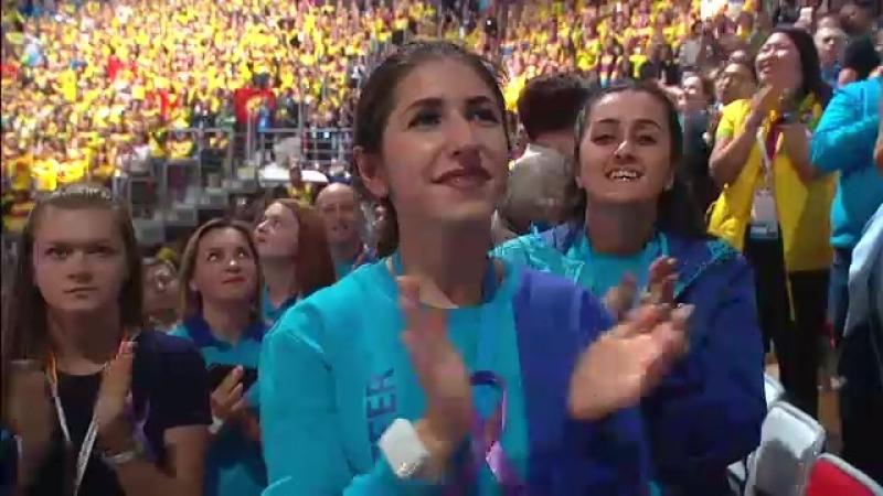 Открытие XIX Всемирного фестиваля молодёжи и студентов • Президент России