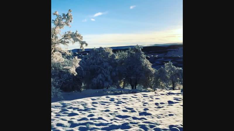 Первый снег 20018😉