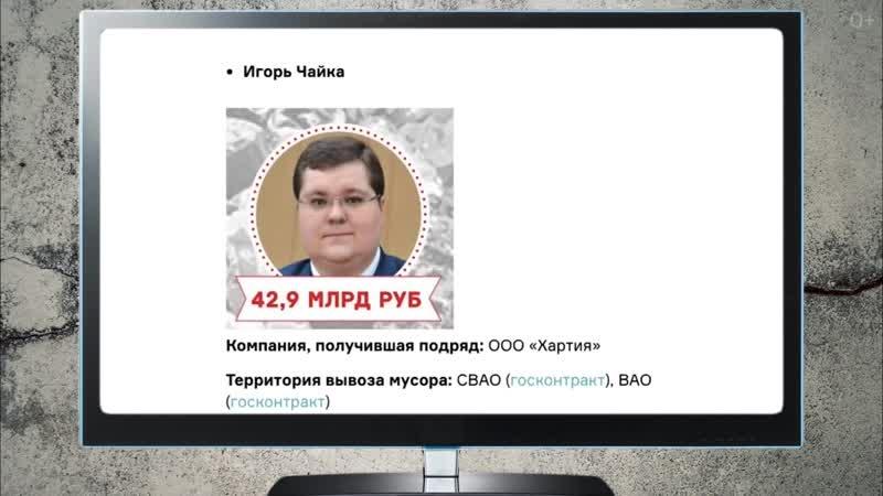 Мусорную мафию возглавит сын Генерального прокурора