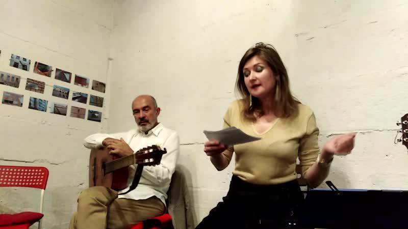 Наталья Григина читает свои стихи на квартирнике!